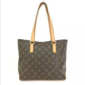 Louis Vuitton Monogram Cabas Piano Shoulder Bag